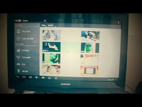 Android tv box biến tivi thường thành smart tivi