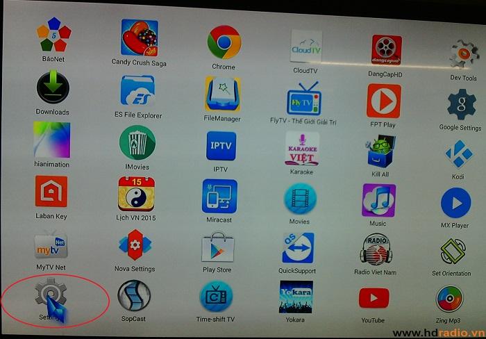 Cài Đặt Android TV Box Thành Bộ Phát Wiffi