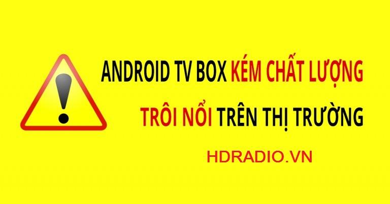 Cách chọn mua sản phẩm Android Box