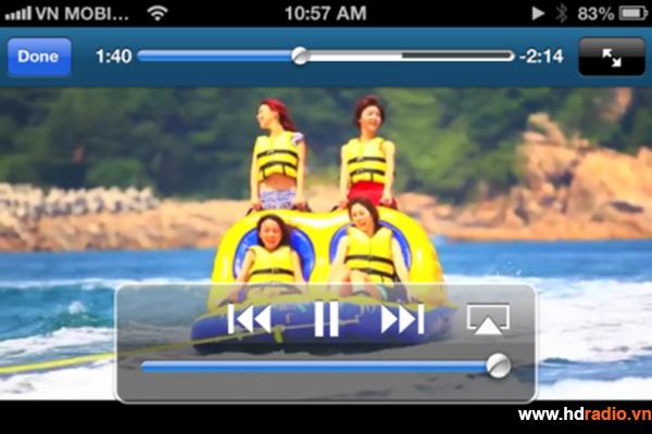 Chia sẻ tài nguyên từ Iphone, Ipad lên TV qua Android Box Neo X5, Neo X7