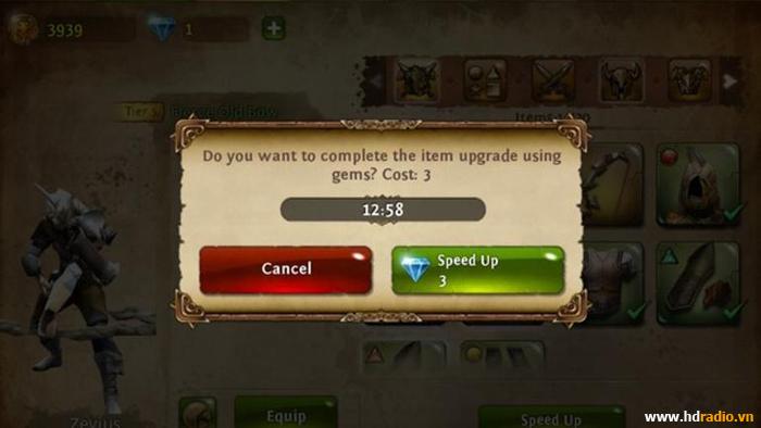 Đánh giá Dungeon Hunter 4 - Sẽ là tuyệt phẩm chặt chém nếu như không có pay-to-win