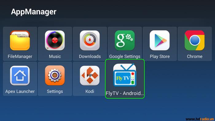 FlyTV đã có phiên bản dành riêng cho Android TV Box