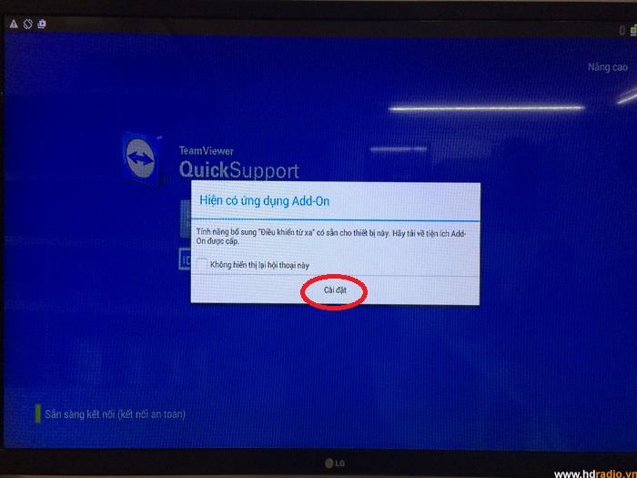 Hướng Dẫn Cài Đặt Và Sử Dụng Phần Mềm Teamview Quicksupport Trên Android Box