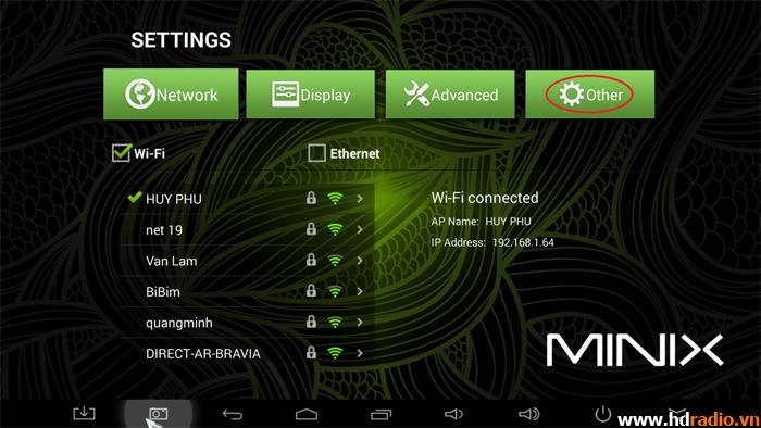 Hướng dẫn kết nối usb 3G với android tivi box