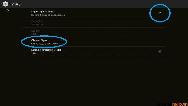 Hướng dẫn sử dụng Android tivi box MXQ S805