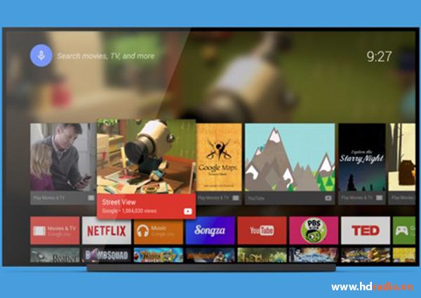 Launcher dành riêng cho Android Tv Box đã xuất hiện trên Play Store