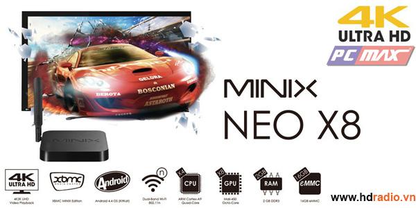 Nên mua MINIX NEO X8 hay NEO X8-H?