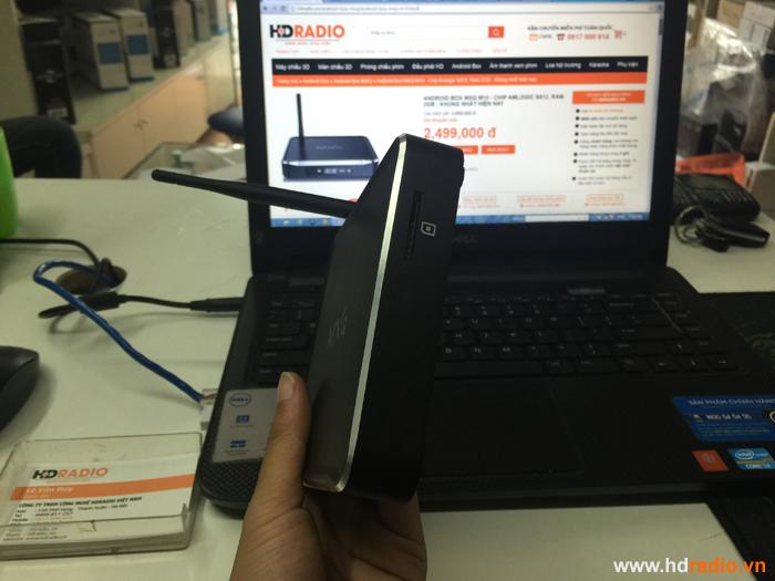 REVEIW ĐẬP HỘP ANDROID BOX MXQ M10 - CHIP AMLOGIC S812, RAM 2GB - KHỦNG NHẤT HIỆN NAY