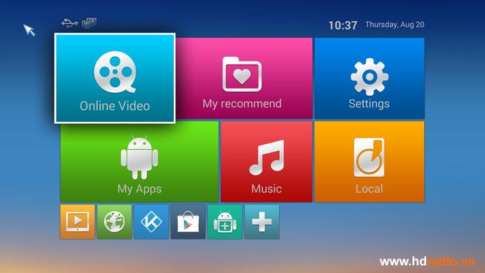 Android tv box MXQ M12 3D