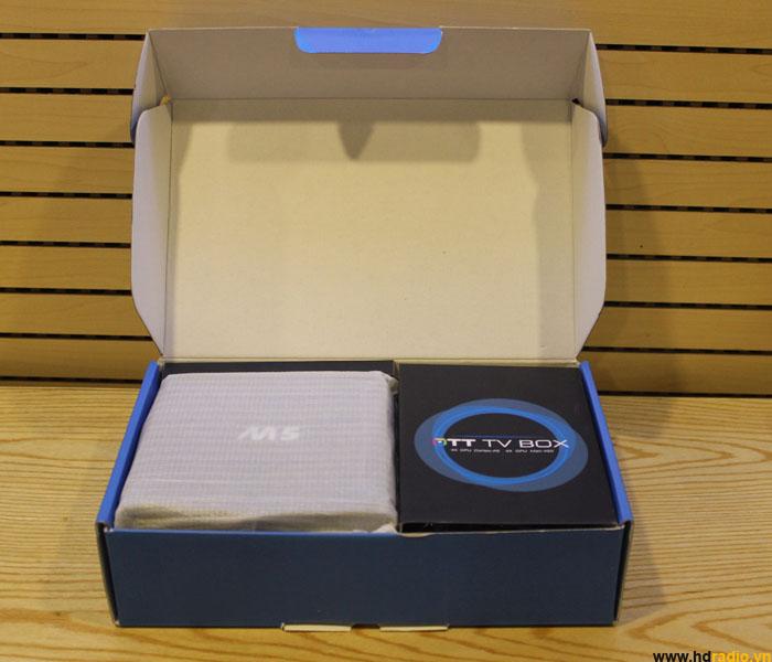 REVIEW ANDROID BOX M5 - AMLOGIC S805 CHẠY MƯỢT, GIÁ SIÊU RẺ