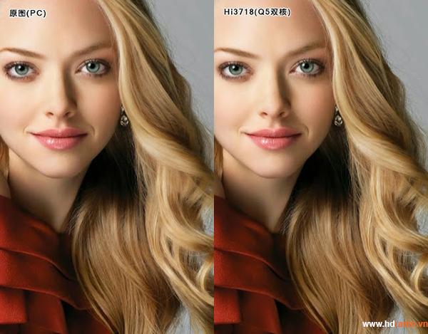 So sánh chất lượng hình ảnh giữa dòng Chip HiSilicon với chip HDplayer
