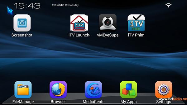Sử dụng Android box để theo dõi camera giám sát