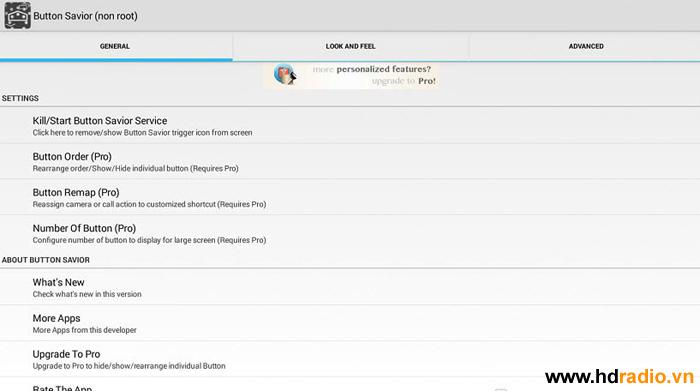 Tạo thanh điều khiển tiện lợi cho dòng android tv box Himedia