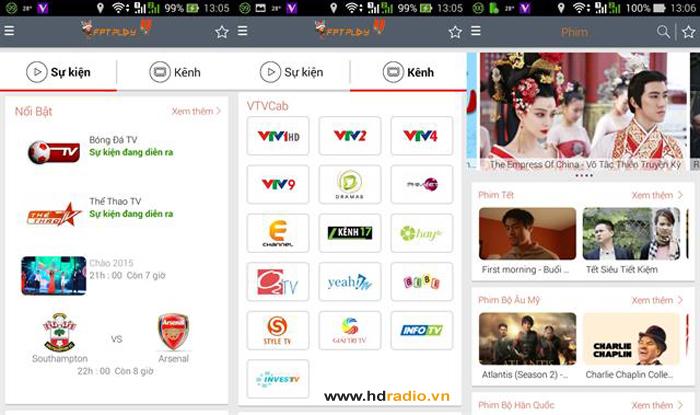 Tổng Hợp Những Ứng Dụng Xem Tivi Cho Box Android TV
