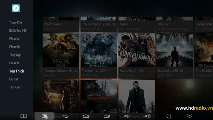 Ứng Dụng Xem Phim Online Hot Trên Android Box Tivi