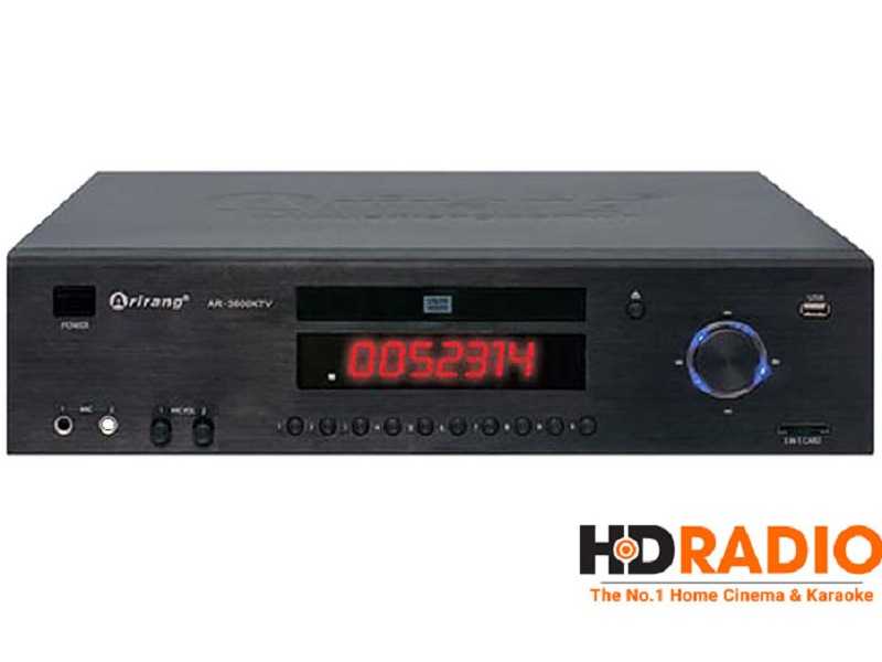 Đầu karaoke Arirang AR-3600KTV (Kèm ổ cứng 2TB)