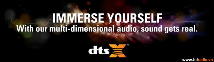 Giới thiệu công nghệ DTS X