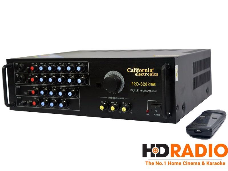 Amply Karaoke California Pro 828R