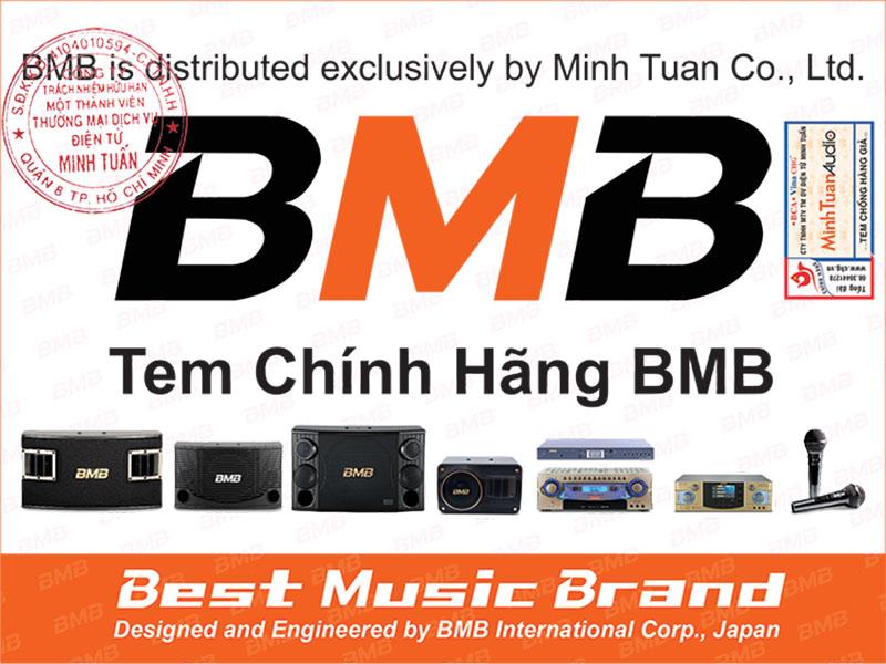tem bảo hành chính hãng của bmb