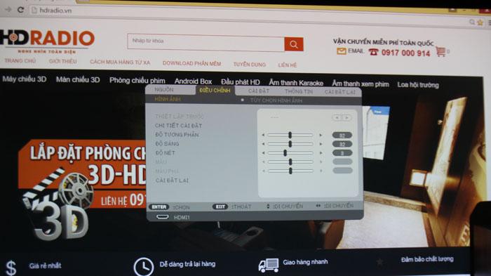 Hướng dẫn sử dụng máy chiếu đa năng NEC NP-V302XG