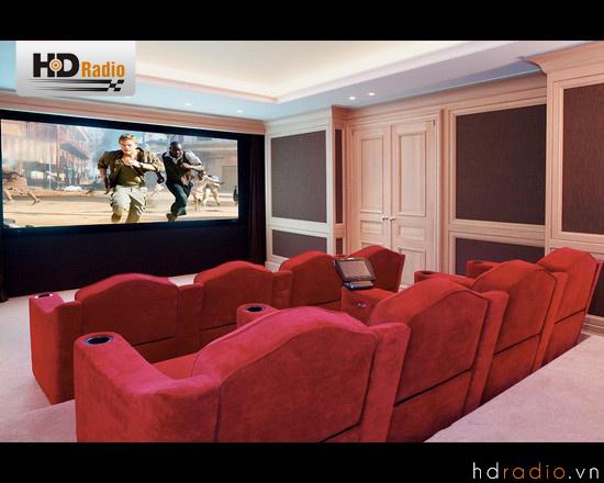 Phòng chiếu phim gia đình cổ điển