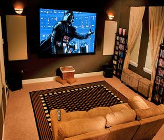Những quán cafe + phòng chiếu phim 3D gia đình